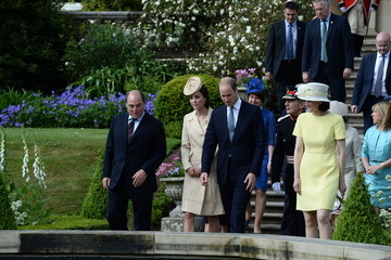 Kate Middleton Prince William The Duke And Duchess Of Cambridge Attend The Secretary Of State For Northern Ireland's Garden Party