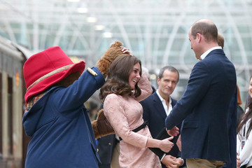 Kate Middleton Prince William The Duke of Cambridge and Prince Harry Attend the Charities Forum Event