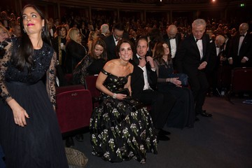 Kate Middleton Prince William EE British Academy Film Awards - Winners Room