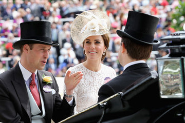 Kate Middleton Prince William Royal Ascot - Day 2