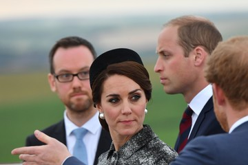 Kate Middleton Prince William Royal Family Attend The Somme Centenary Commemorations In France