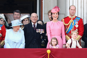 Kate Middleton Queen Elizabeth II Trooping the Colour 2017