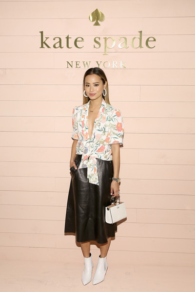 Jamie Chung At New York Fashion Week 2018 Designer Spotlight Celebrities Who Love Wearing Kate Spade Stylebistro