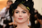 Kate Upton Gemstone Chandelier Earrings