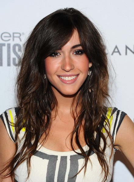 Kate Voegele Long Curls