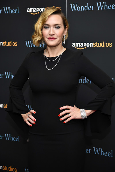 Kate Winslet Red Nail Polish