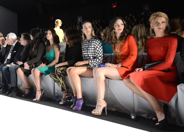 Michael Kors - Front Row - Spring 2013 Mercedes-Benz Fashion Week