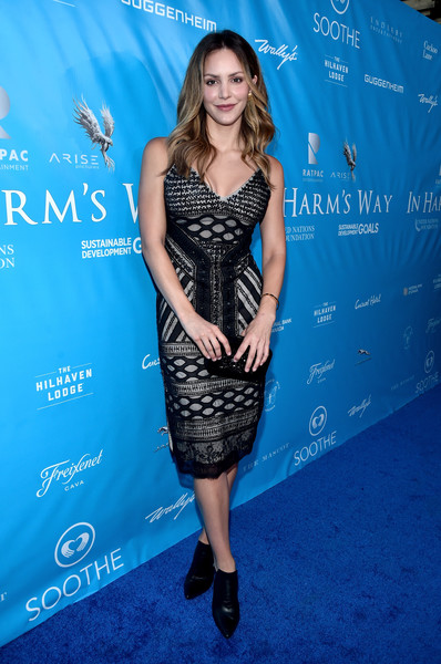 Katharine McPhee Beaded Dress [clothing,dress,shoulder,cocktail dress,electric blue,cobalt blue,fashion,premiere,carpet,long hair,ban ki-moon,katharine mcphee,brett ratner,secretary-general,private residence,los angeles,un,red carpet,david raymond host special event,event]