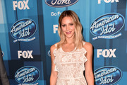 Katharine McPhee Lace Dress