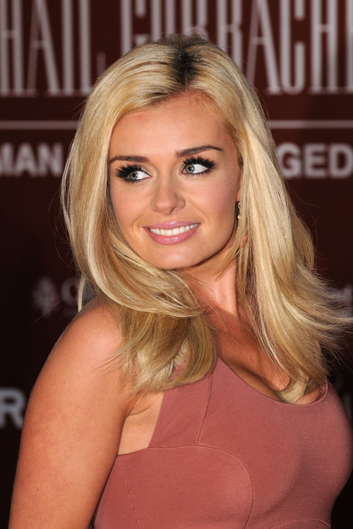 Katherine Jenkins Long Straight Cut
