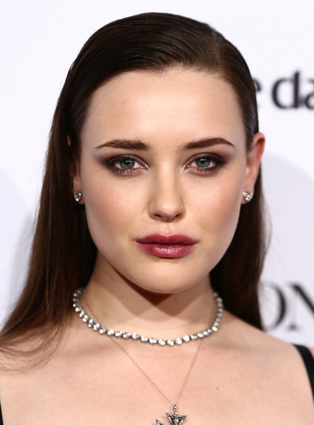Katherine Langford Long Straight Cut