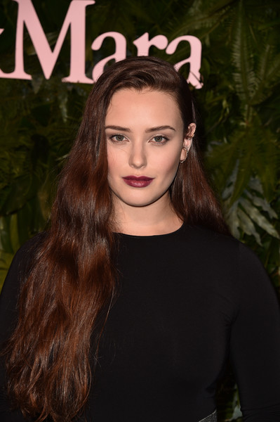Katherine Langford Long Wavy Cut