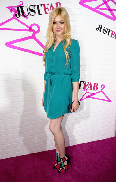 Katherine McNamara Shirtdress