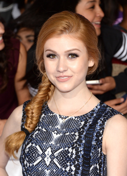 Katherine McNamara Long Braided Hairstyle [justin biebers believe,hair,fashion model,hairstyle,beauty,human hair color,eyebrow,blond,long hair,chin,fashion,arrivals,katherine mcnamara,california,los angeles,regal cinemas l.a. live,open road films,premiere,premiere]