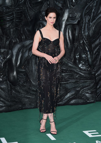 Katherine Waterston Sheer Dress