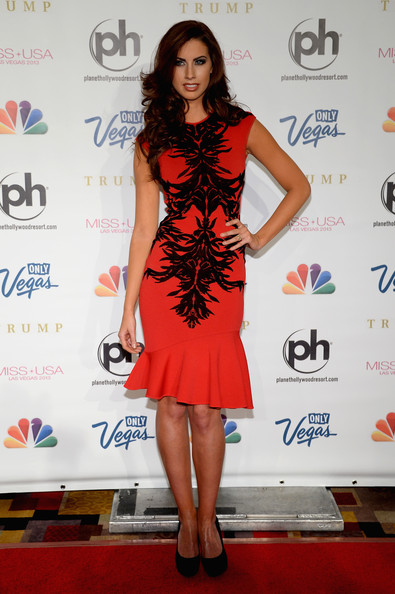 Katherine Webb Cocktail Dress