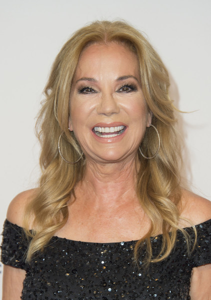 Kathie Lee Gifford Long Curls [hair,face,blond,hairstyle,facial expression,eyebrow,chin,shoulder,smile,long hair,arrivals,kathie lee gifford,valerie macon,beverly hills,california,afp,annual gracie awards gala,annual gracies awards gala]