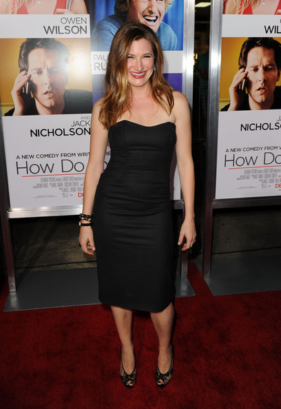 Kathryn Hahn Little Black Dress
