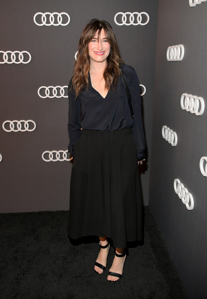 Kathryn Hahn Strappy Sandals