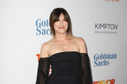 Kathryn Hahn Off-the-Shoulder Dress