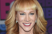Kathy Griffin Feathered Flip