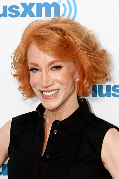 Kathy Griffin Curled Out Bob [hair,hairstyle,blond,chin,hair coloring,forehead,brown hair,smile,layered hair,long hair,blond,kathy griffin,celebrities,comedian,hair,hair coloring,hair,hairstyle,celebrity,siriusxm,kathy griffin,kathy griffin: a hell of a story,celebrity,fashion,blond,bangs,hair coloring,red hair]