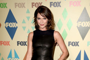 Katie Aselton Leather Dress