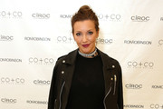 Katie Cassidy Leather Jacket