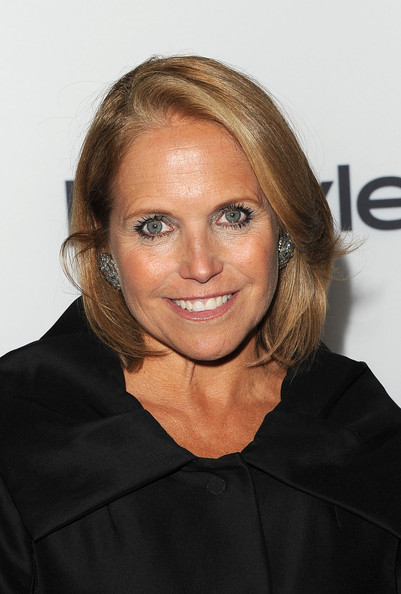 Katie Couric Bob [hair,face,hairstyle,blond,eyebrow,beauty,chin,forehead,cheek,smile,katie couric,toronto international film festivalat windsor arms hotel,canada,hollywood foreign press association,instyle,toronto international film festival,event]