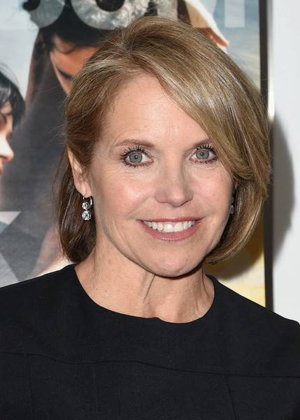 Katie Couric Bob [desert dancer,hair,hairstyle,face,eyebrow,blond,beauty,chin,layered hair,brown hair,premiere,katie couric,arrivals,screening,new york city,relativity studio,museum of modern art,special screening of relativity studios desert dancer]