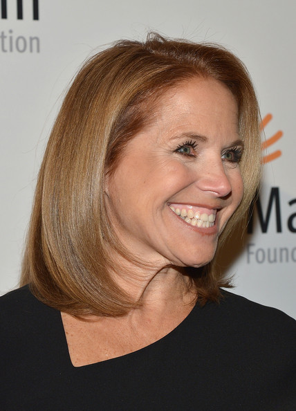 Katie Couric Hairstyle 2013