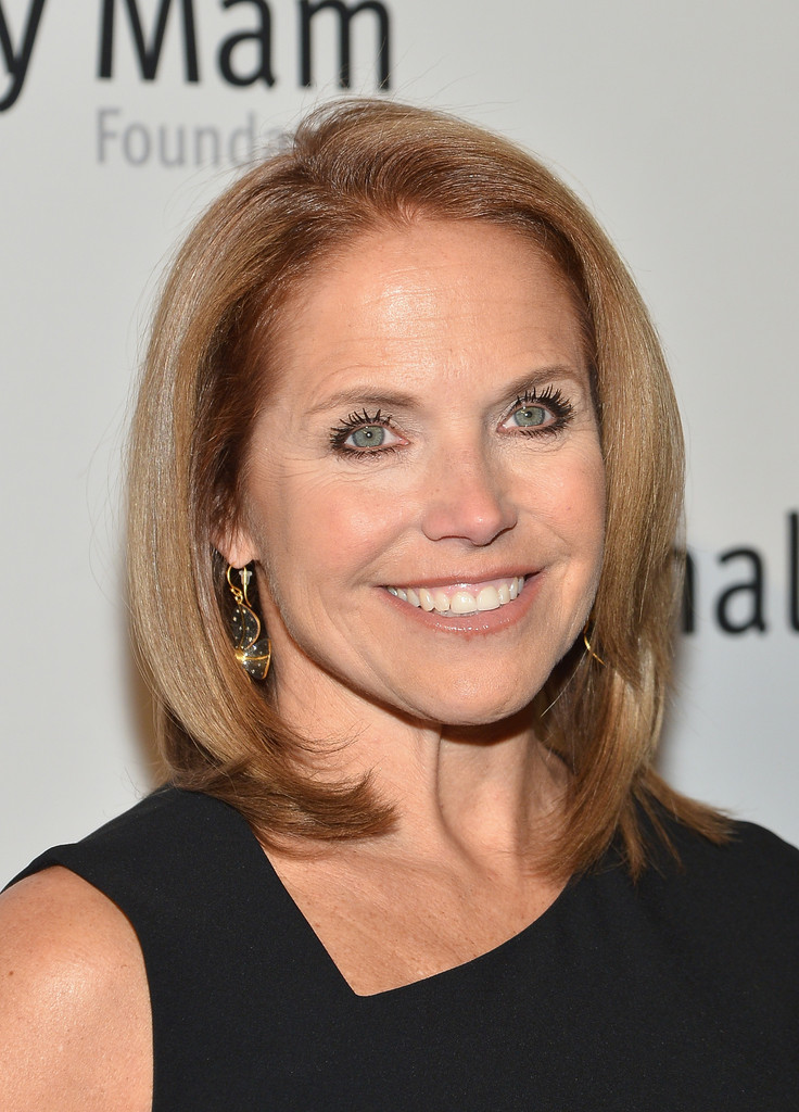 Katie Couric Mid Length Bob Shoulder Length Hairstyles