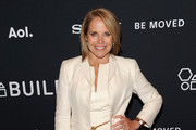 Katie Couric Skirt Suit