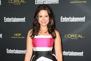 Katie Lowes Strapless Dress