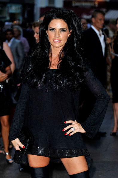 Katie Price Long Curls