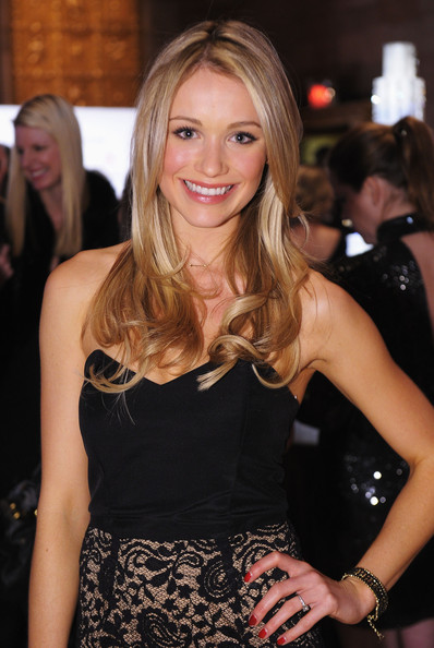 Katrina Bowden Red Nail Polish
