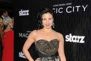 Katrina Law Strapless Dress