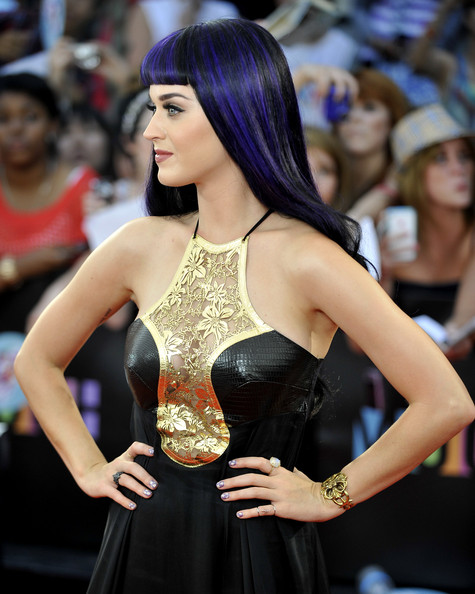Katy Perry Cuff Bracelet [muchmusic video awards,lady,beauty,black hair,fashion,long hair,model,hairstyle,dress,fashion model,event,arrivals,katy perry,toronto,canada,muchmusic hq]