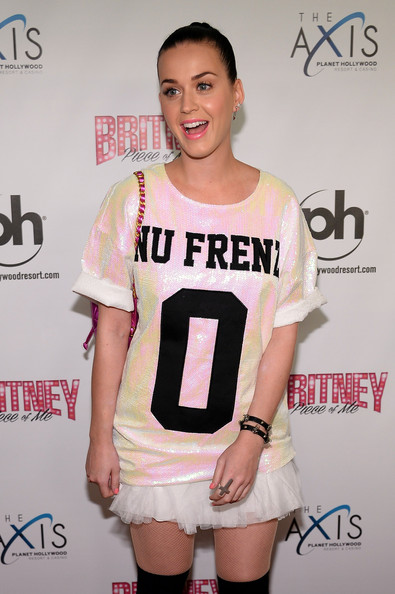 Katy Perry Silver Ring [britney: piece of me,britney spears show,white,clothing,shoulder,fashion,beauty,joint,footwear,carpet,muscle,leg,katy perry,britney spears,nevada,las vegas,planet hollywood resort casino,grand opening,grand opening]