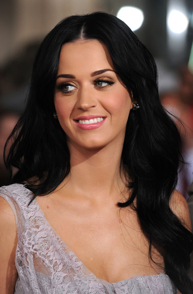 Katy Perry Long Wavy Cut [the tempest,hair,eyebrow,face,hairstyle,lip,beauty,chin,skin,black hair,long hair,arrivals,katy perryv,los angeles,california,el capitan theatre,touchstone pictures,miramax films,premiere,premiere]