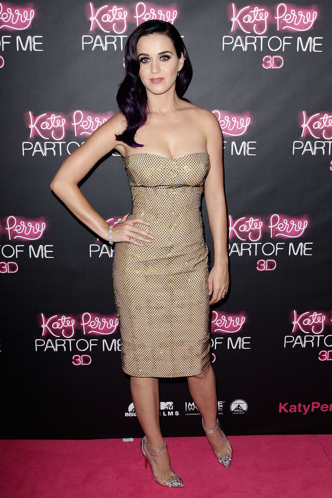 "Katy Perry arrives at the ""Katy Perry: Part Of Me"" Australian Premiere on June 30, 2012 in Sydney, Australia."