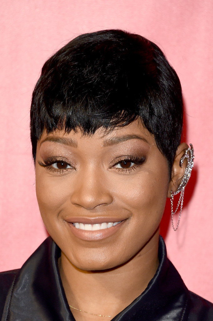 Keke palmer short hairstyles keke palmer hair stylebistro keke palmer kept it relaxed with this pixie at the musicares person of the year event urmus Gallery