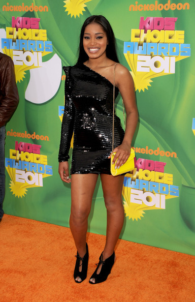 Keke Palmer Chain Strap Bag