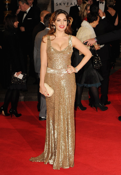 Kelly Brook Beaded Dress
