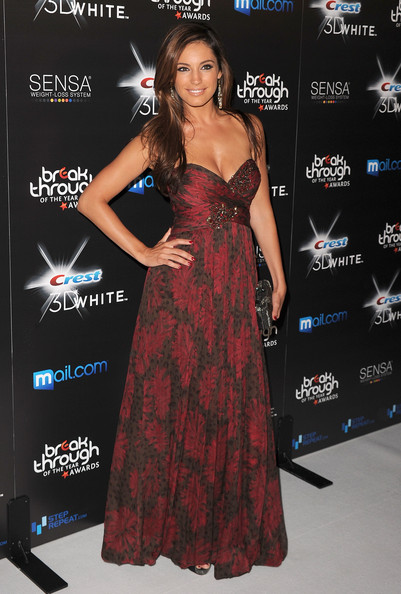 Kelly Brook Actress Actress Kelly Brook Arrives at