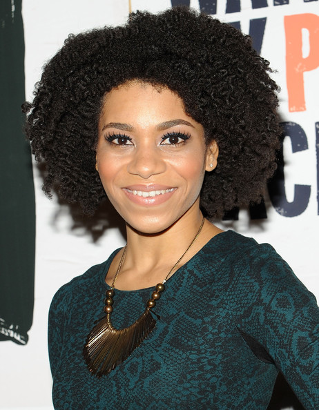 Kelly McCreary Short Curls [i just want my pants back,hair,hairstyle,jheri curl,black hair,s-curl,ringlet,human,afro,long hair,lace wig,kelly mccreary,new york,mtv,public assembly,premiere]