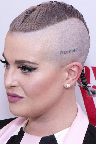 Kelly Osbourne Mohawk [hair,face,hairstyle,eyebrow,forehead,chin,ear,beauty,cheek,nose,whitby hotel,new york city,vh1 daytime divas premiere,event,vh1 daytime divas premiere event,kelly osbourne]