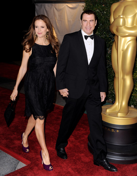 Kelly Preston Peep Toe Pumps