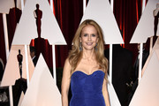 Kelly Preston Strapless Dress