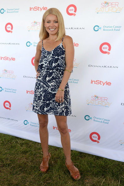 Kelly Ripa Print Dress